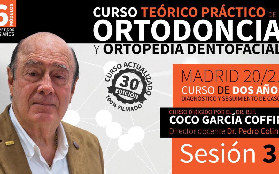Curso Ortodoncia y Ortopedia Dentofacial (2 años – 20/21) Sesión 3 de 6