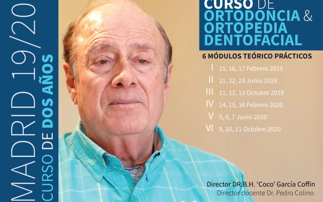 Curso Ortodoncia y Ortopedia Dentofacial (2 años – 19/20) Sesión 2 de 6