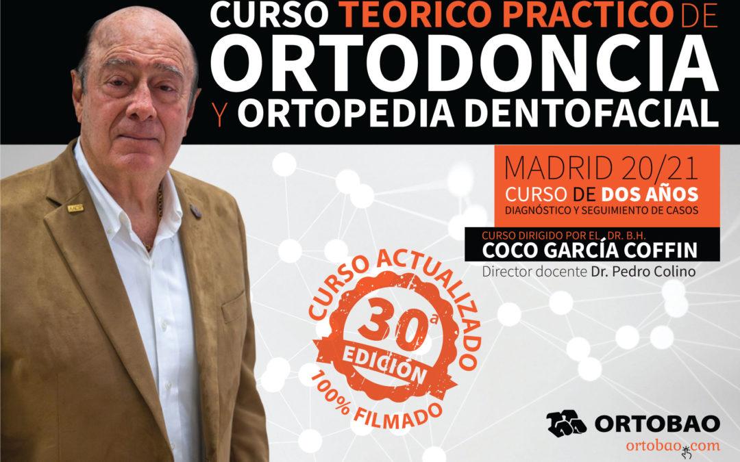 Curso Ortodoncia y Ortopedia Dentofacial (2 años – 20/21) Sesión 1 de 6