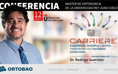 Conferencia Sistema Carriere en la Universidad Rey Juan Carlos